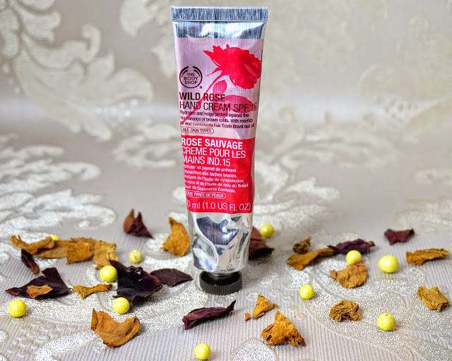 Body Shop Wild Rose Hand Cream