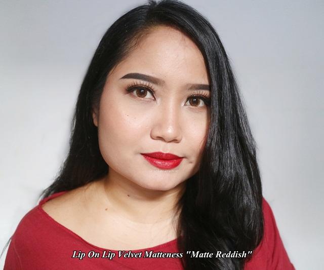 Lip On Lip Velvet Matte Reddish