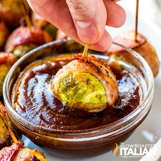Bacon Wrapped Brussels Sprouts With Video