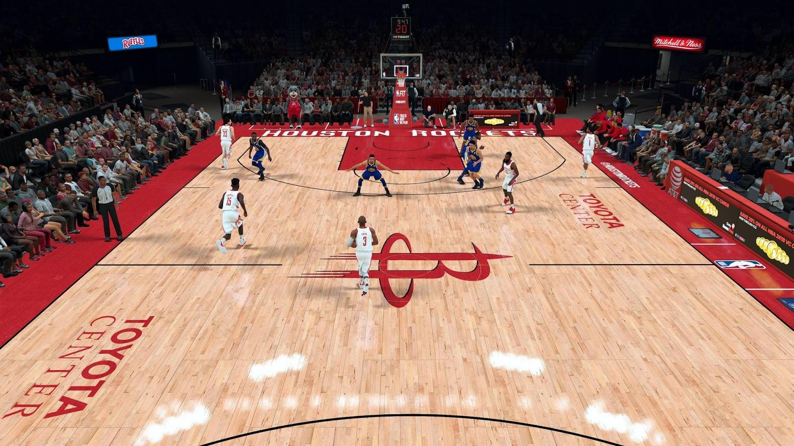 DNA Of Basketball | DNAOBB: NBA 2K18 Houston Rockets Toyota Center by mrk326 RELEASED