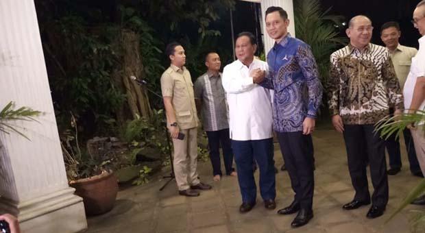 Prabowo Subianto Targetkan Koalisinya Kuat di Parlemen