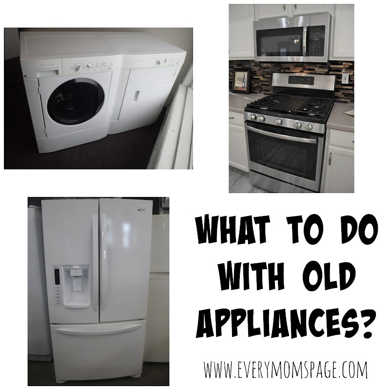 What to do with Old Appliances?