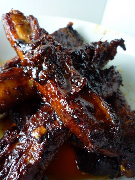 Spicy Korean Pork Spare Ribs
