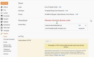 Domain TLD gratis freenom