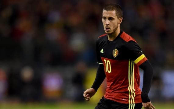 Eden Hazard will captain Belgium at the Euro 2016