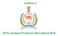 GPSC Assistant Professor Recruitment
