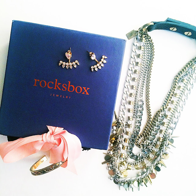 FREE MONTH of jewelry delivered to your door! Use code LAURABFF462 at Rocksbox.com!