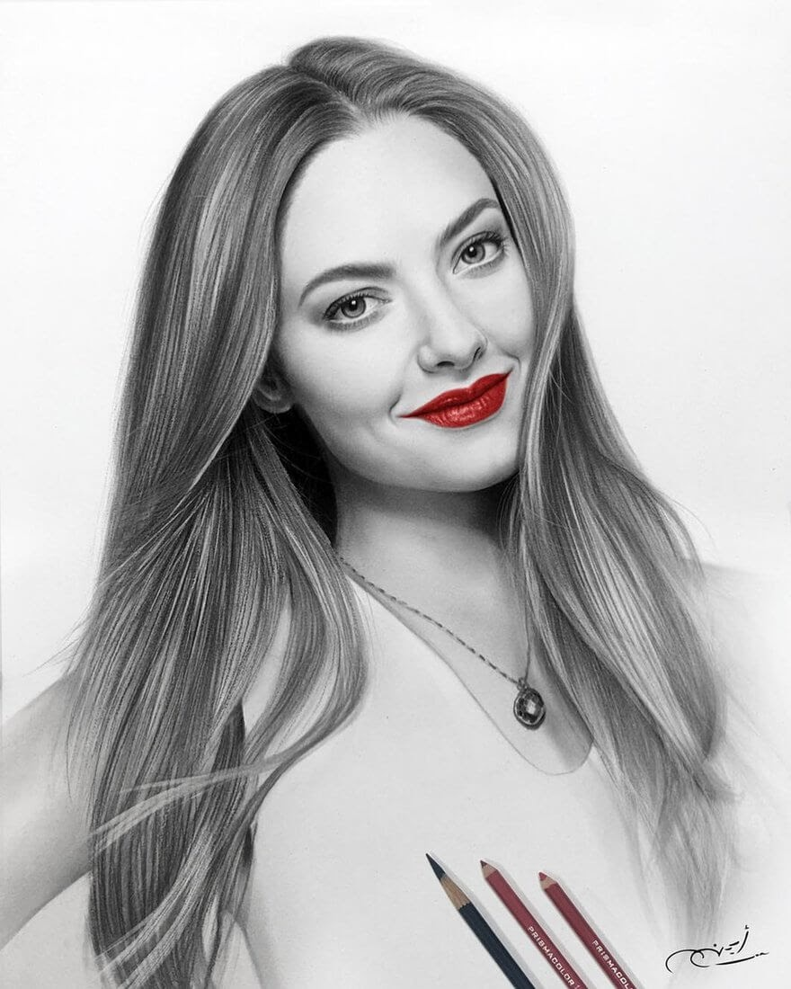 07-Amanda-Seyfried-Aymanarts-Realistic-3D-Illusion-Portrait-Drawings-www-designstack-co