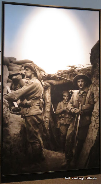 Men in the trenches National Anzac Centre
