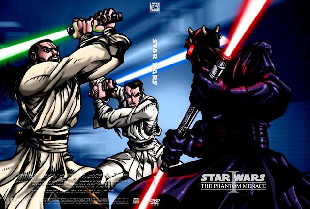 Star Wars: Episode I - The Phantom Menace DVD Cover