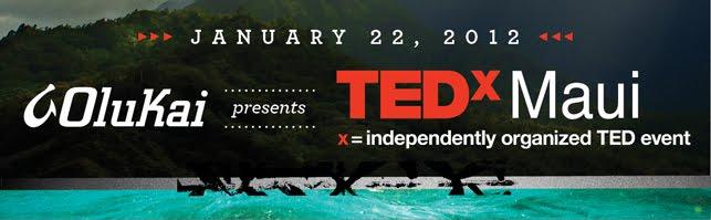 OluKai Partners with TEDxMaui 1