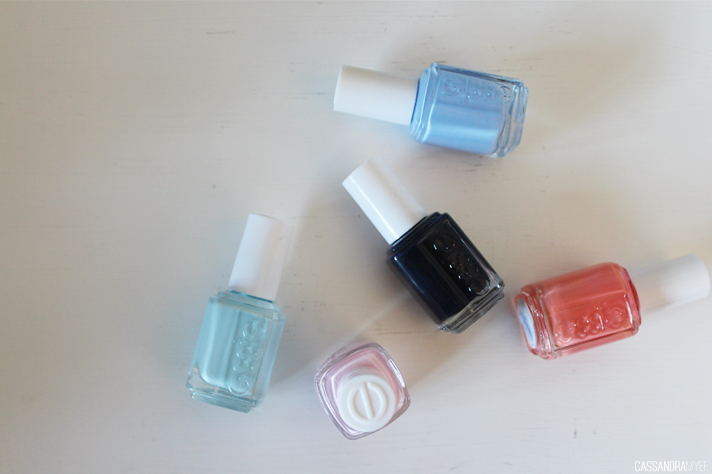 MOST LOVED // May '14 - Essie Nail Polishes - cassandramyee