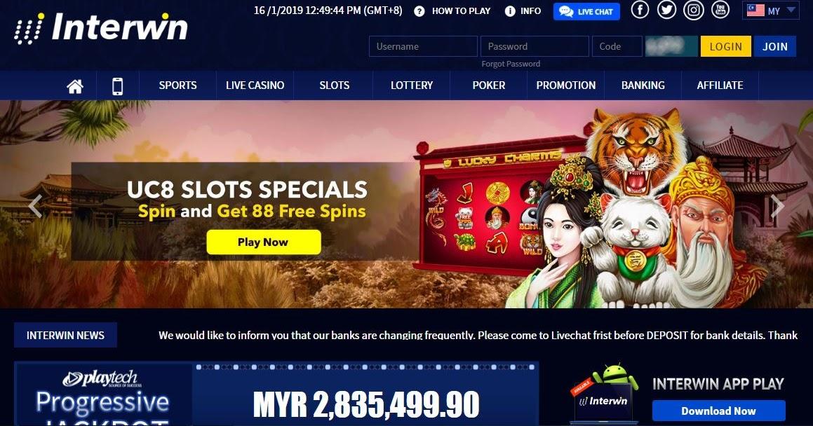 Casino Online Malaysia Interwin