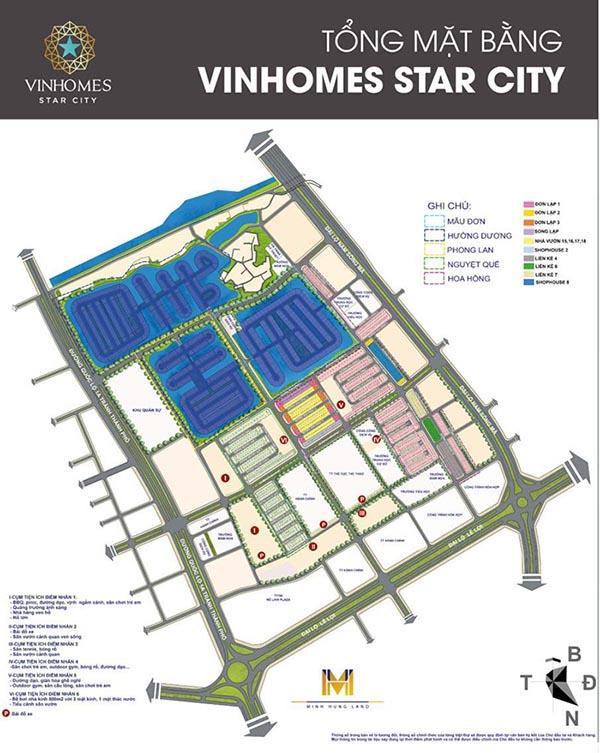 MẶT BẰNG - VỊ TRÍ VINHOMES STAR CITY THANH HÓA