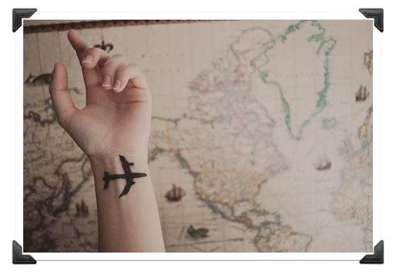 Voyage Tatouage avion