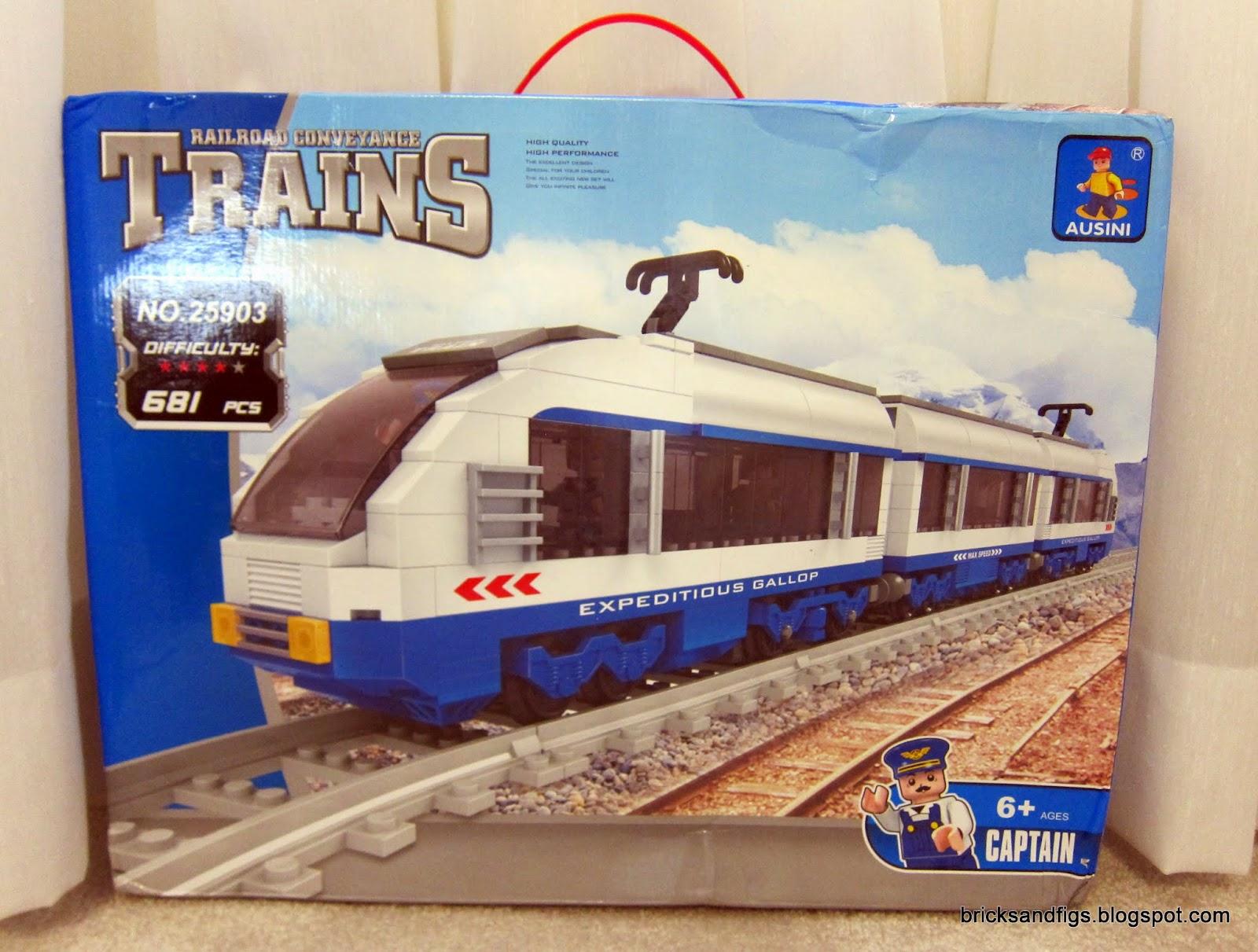 Bricks And Figures Ausini 25903 Passenger Train Part One