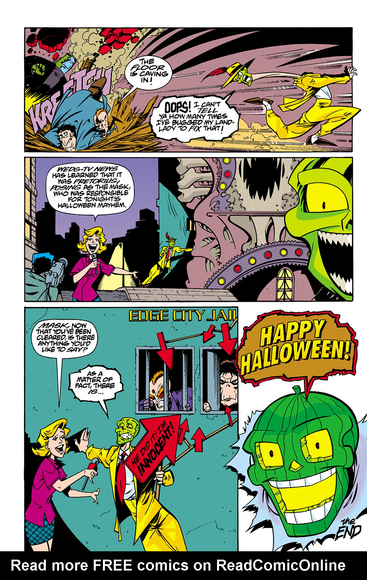 Read online Adventures Of The Mask Omnibus comic -  Issue #Adventures Of The Mask Omnibus Full - 406