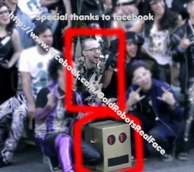 lmfao robot real face - photo #1