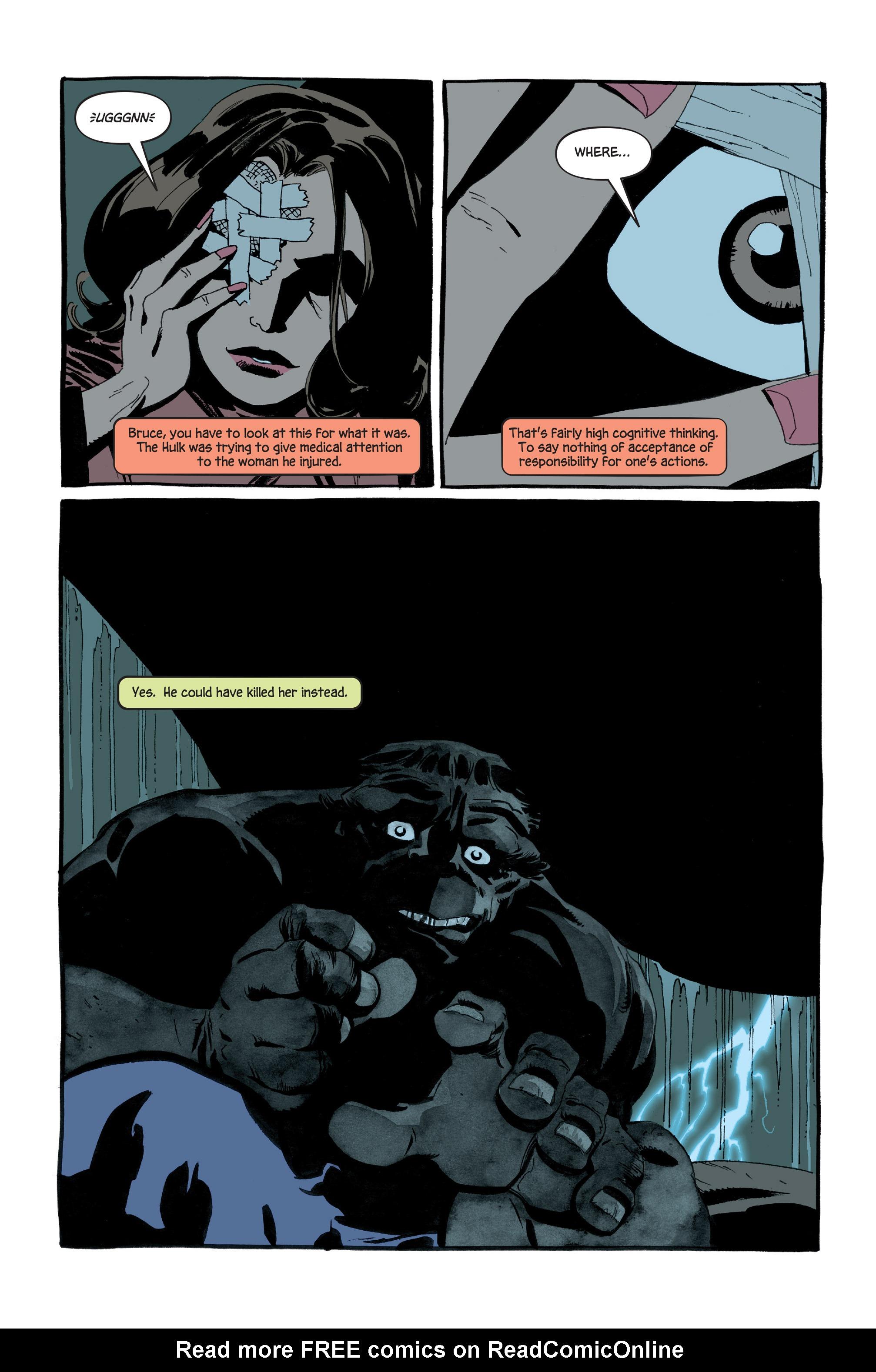 Read online Hulk: Gray comic -  Issue #5 - 8