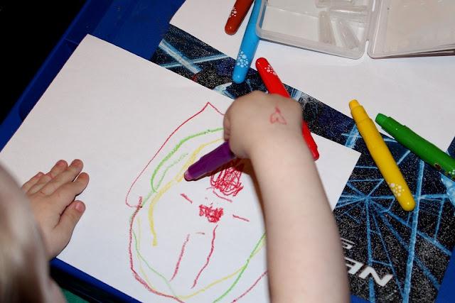 crayon pour les enfants