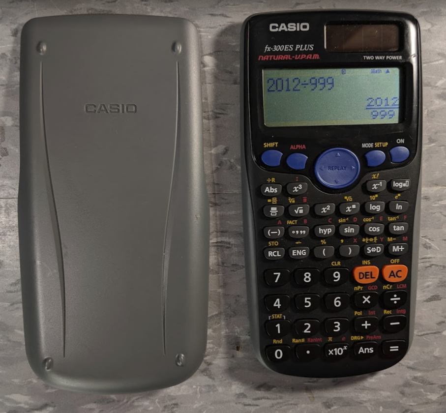 The Calculator Review  Review  Casio Fx
