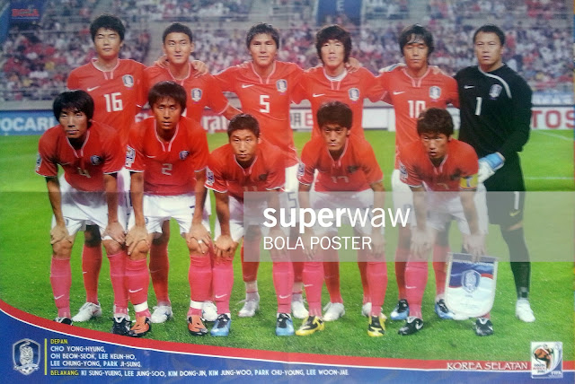 SOUTH KOREA TEAM SQUAD WORLD CUP 2010