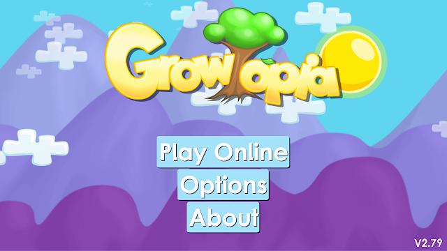 Main Menu Growtopia
