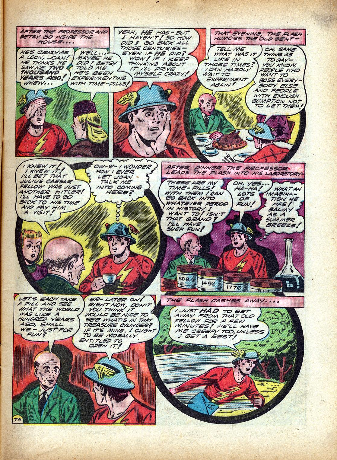 Read online All-Flash comic -  Issue #4 - 10