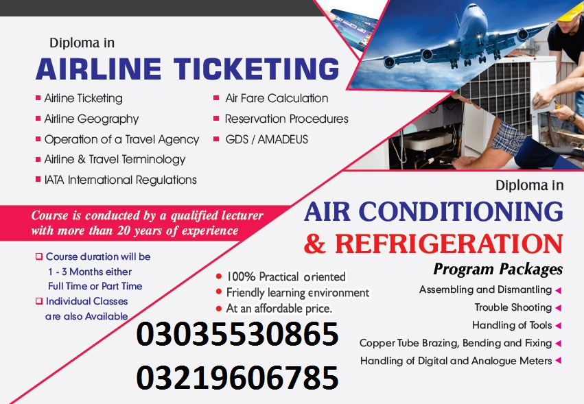 Air Ticketing Course IPATS Govt Recognized +923035530865,3219606785  Travel agent course in Rawalpi