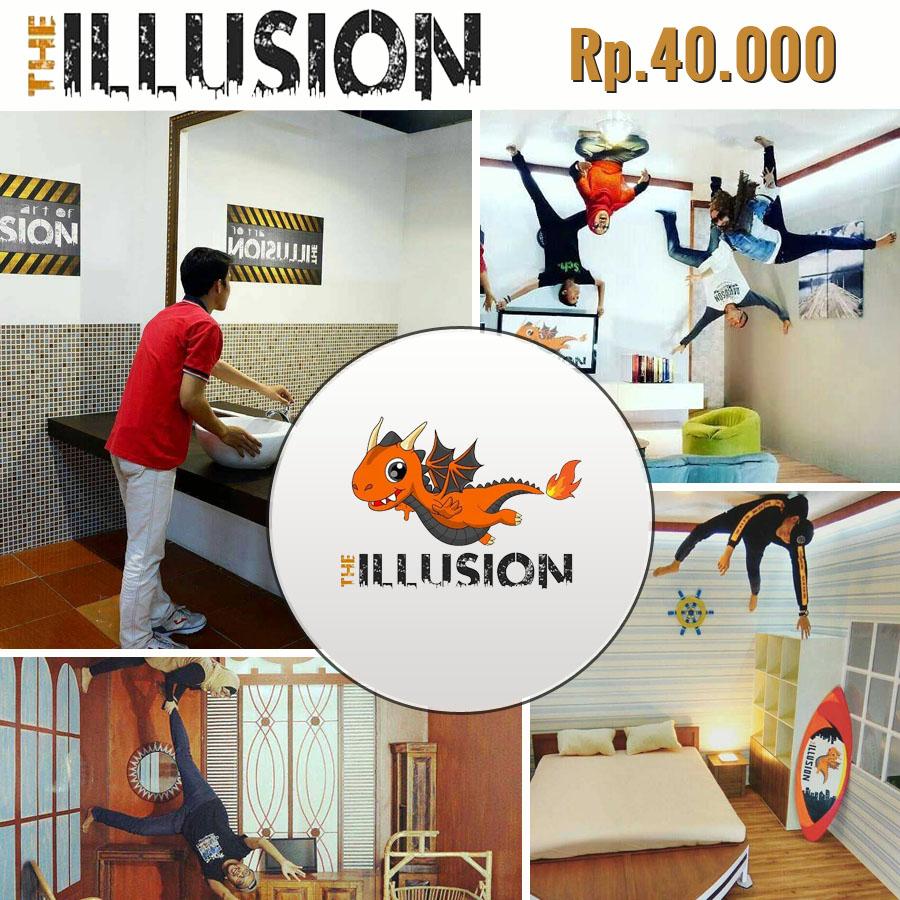 Harga Promo Tiket The Illusion Bogor