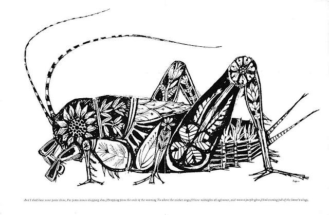 a Reynold Ruffins grasshopper