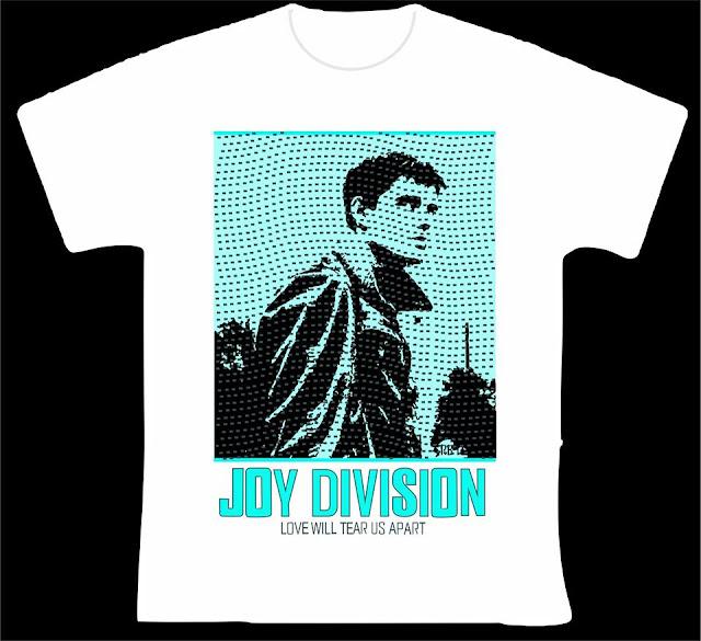 ESTAMPARIA/SERIGRAFIA: Joy Division