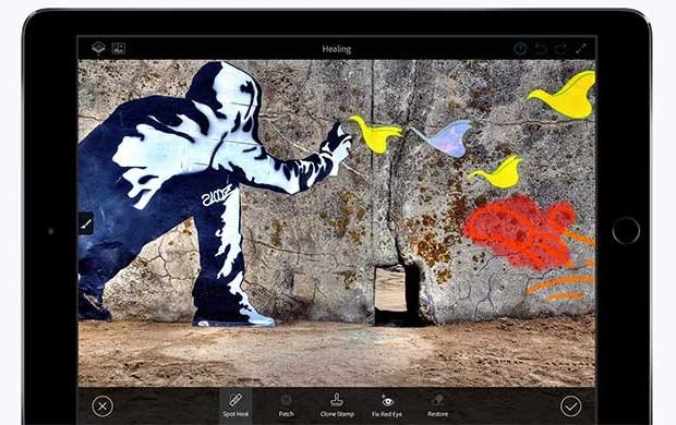 Aplikasi Photoshop Fix Untuk iPhone dan iPad