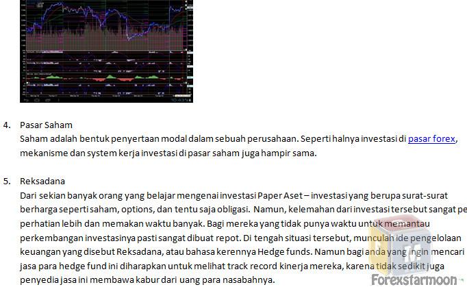 Cari investor forex