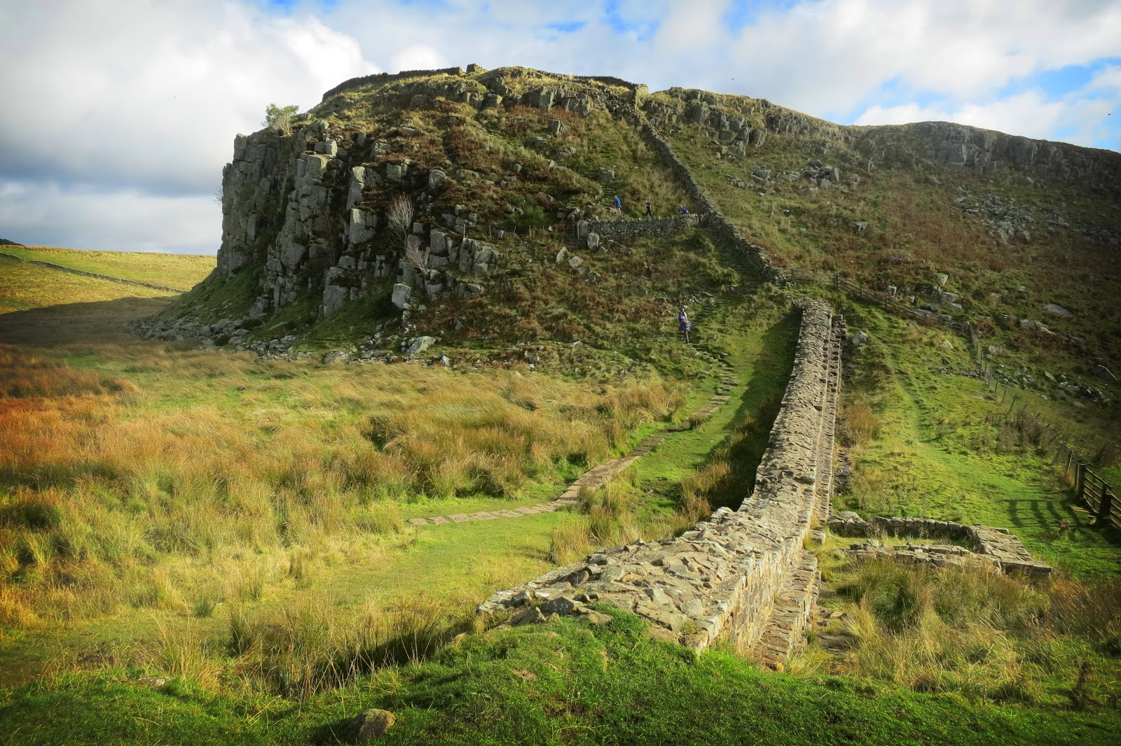 Hadrian S Wall: Best Hadrian's Wall Walk & Best Views Guide: Path From