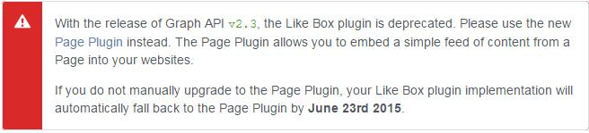 Facebook new like box | 101helper