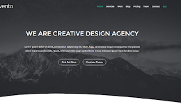 Invento Agency blogger template