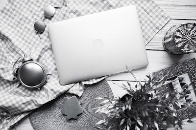 komputer, blogowanie, Idąc przez las, rocznica