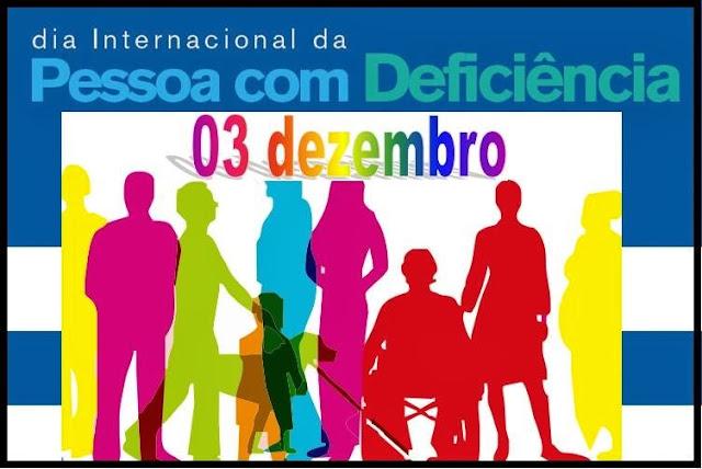 Resultado de imagem para dia internacional da pessoa com deficiência