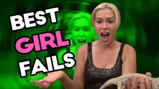 Os fails mais engraçados com garotas já vistos na internet