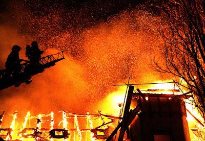 tűz, tűzbaleset, Gyergyócsomafalva, ISU