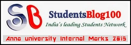 ANNA UNIVERSITY INTERNAL MARKS 2018