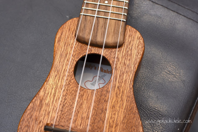 Andy's Ukuleles Nano sound hole