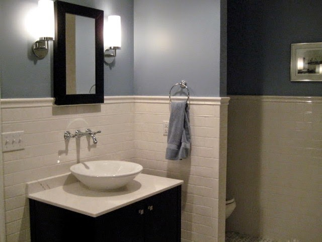 basement bathroom paint color ideas