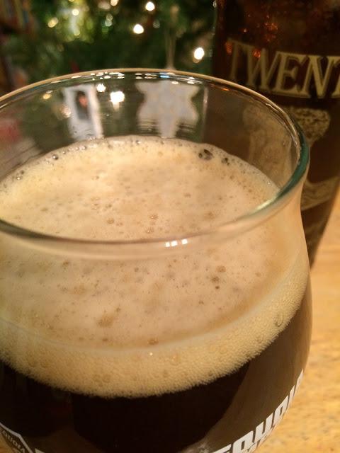 Eel River Twenty Anniversary Bourbon Barrel Aged Triple Ale 2