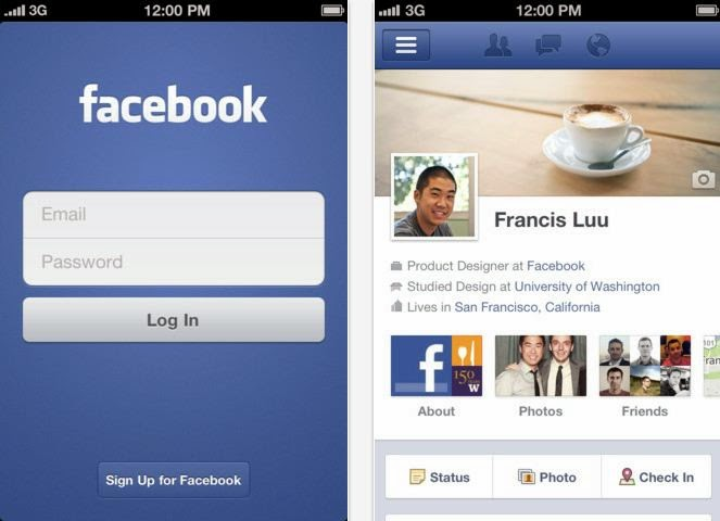 free facebook app for iphone free app for iphone os techalltop 9160