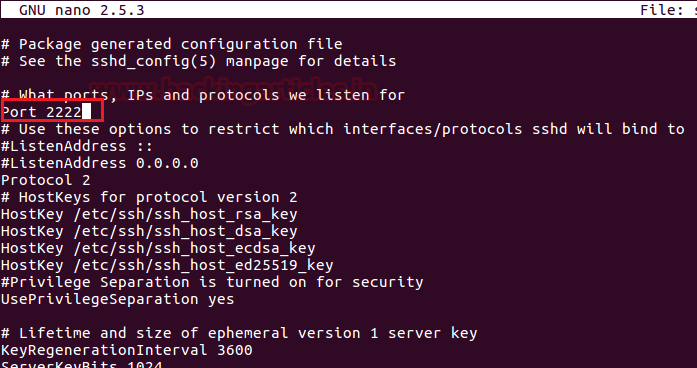 Multiple Ways to Secure SSH Port 6 – 4