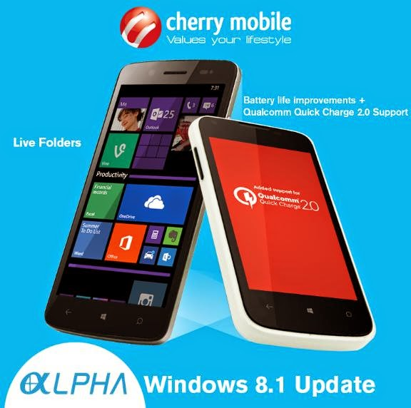 Cherry Mobile Rolling Out Software Updates for Alpha Luxe and Alpha Style