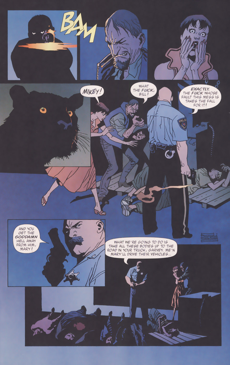Read online 100 Bullets comic -  Issue #49 - 14