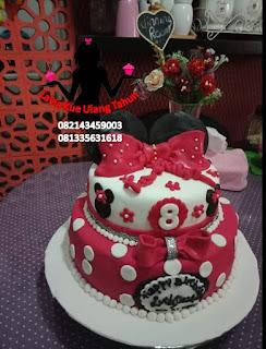Kue Tart Ulang Tahun Minnie Mouse